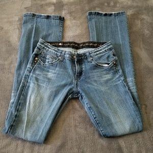 Express Bedrock Bootcut Jeans. Size 4 Long